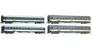 H0 Reisezugwagen-Set 4-tlg., Alex, Ep.6, DC