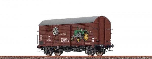H0 Güterwagen Gms 30 ÖBB, III, Steyr Puch