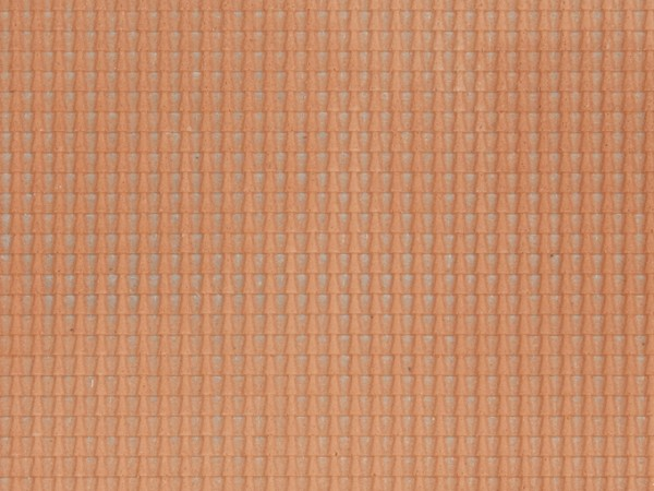 H0 Struktur-Folie 'Dachpfanne' rot NH2020