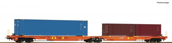 H0 Doppeltaschenwagen T2000 Wascosa Ep.6 +Container