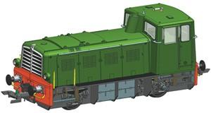 H0 Diesellokomotive D.225.60, FS, Ep.3-4, DCC SOUND