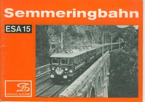 Buch Semmeringbahn