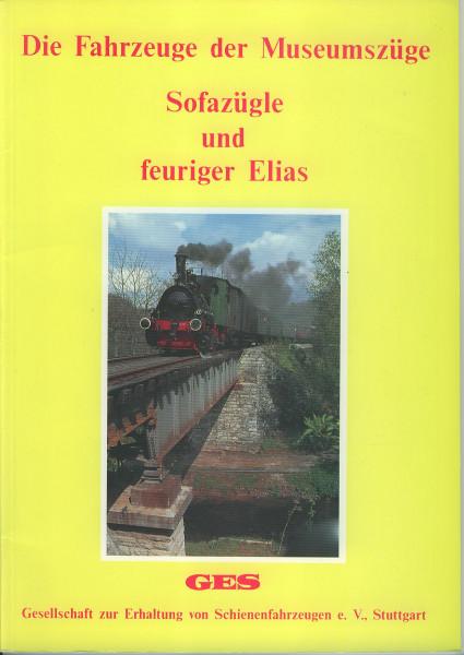 Buch Sofazügle und feuriger Elias - Die Fahrzeuge der Museumszüge