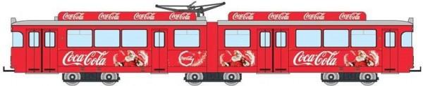 "H0 Straßenbahn GT6 Coca Cola ""Sommer Tram"""