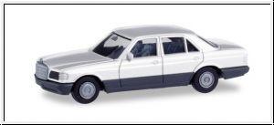 87 Mini-Kit MB S-Klasse(W126), weiß NH2020(03)