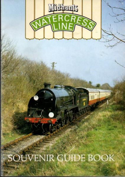 Buch Watercress Line - Mid-Hants Railway - Souvenir Guide Book